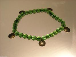 Green Glass Beaded Bracelets image 4