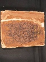 Hand tooled leather covered book Haunted Man Dickens