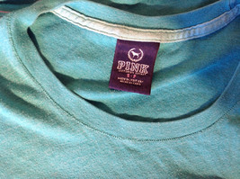 Green Victorias Secret Heart on Front T-Shirt Love Sweet Love on Back Size Small image 7