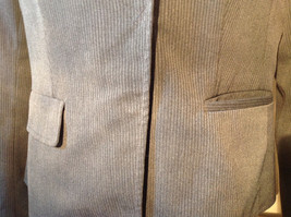 Josephine Chaus Gray Stripped Formal Jacket Blazer One Front Pocket Size 10 image 4