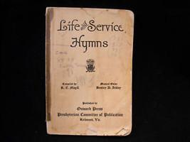 Life and Service Hymns Onward Press 1917 image 1