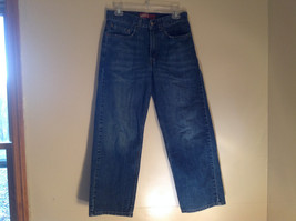 Levis Loose Straight Leg Five Pocket Blue Jeans Size 28 by 28