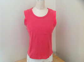 Hanes Pink Sleeveless Shirt Made in Bangladesh Size XL image 1