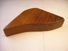 Hard Wood Irregular Box w Lid