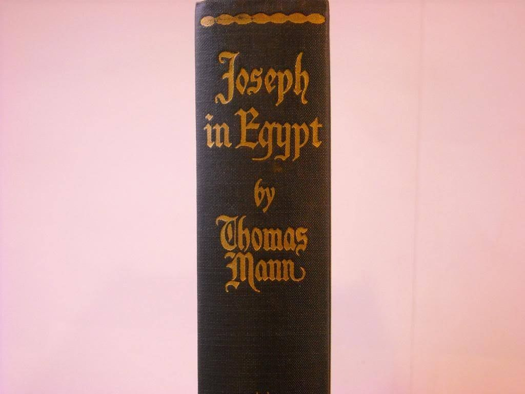 Hardcover book Joseph in Egypt Vol 2 ca 1938 Mann