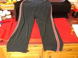 Ladies Black Red White Champion Long Pants Size XL image 2