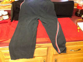 Ladies Black Red White Champion Long Pants Size XL image 4