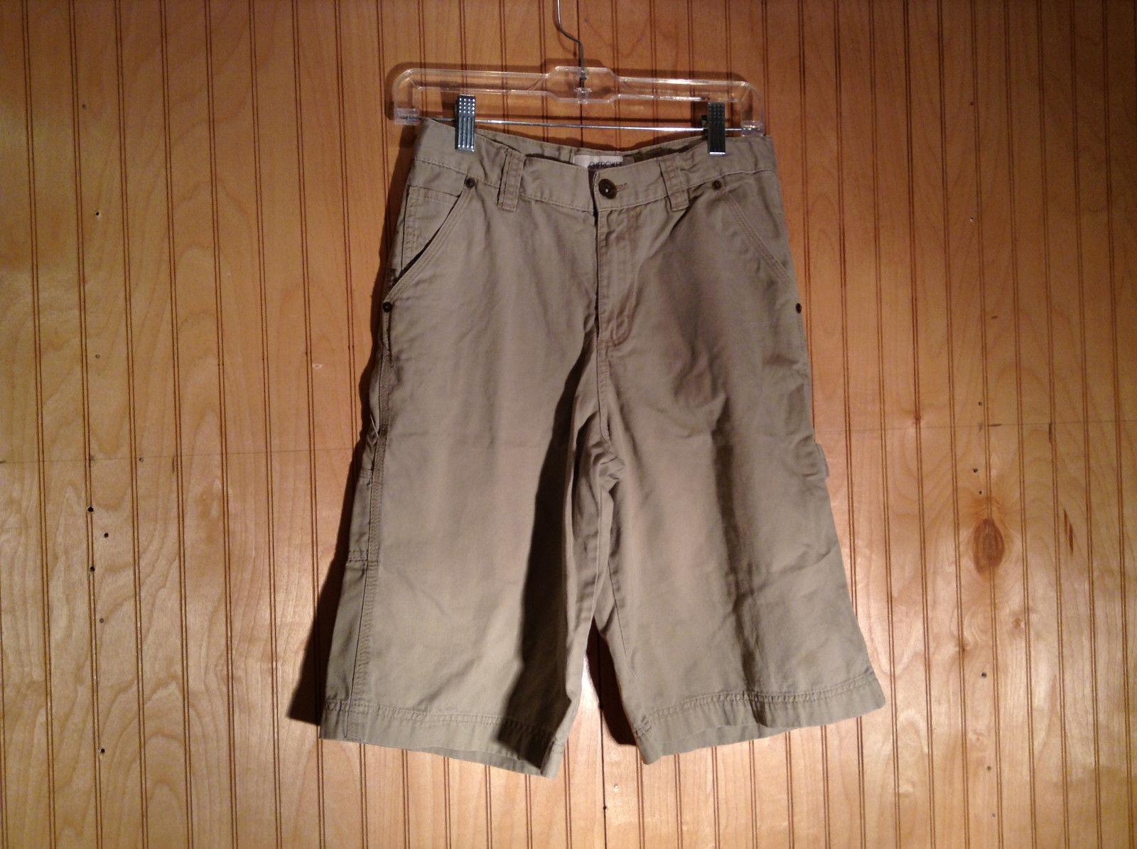 Light Gray Cherokee Cargo Shorts Size 16