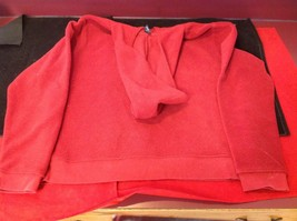 Ladies GAP Red Hooded Sweater Size XL image 6