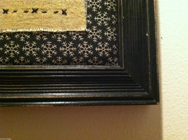 Hand Stitched Keep Christmas in Your Heart Snowman Framed Picture image 5