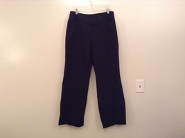 Heather Black Casual Pants High Quality Fabric Size 1X Side and Back Pockets