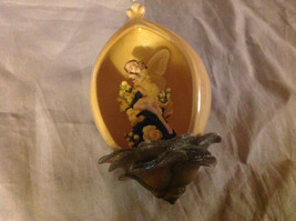 Heirloom Porcelain Bradford Editions Flower Fairy Ornament Ribbon for Hanging