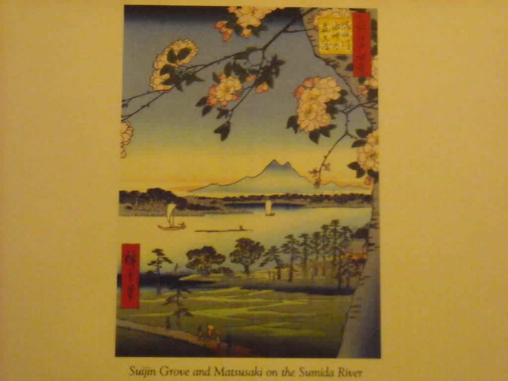 Hiroshiege Japan Woodblock Reprint Suijun Grove Sumida