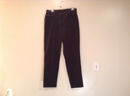 High Waist Lee Black Jeans Front and Back Pockets Zipper Button Closure No Tags