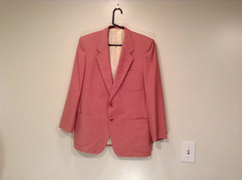 Lined Pink Blazer 2 Button Closure 2 Front Pockets Ratner Clothes No Size Tag image 1