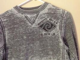 77 Kids by American Eagle Size M 10 Gray White Long Sleeve Sweatshirt image 2