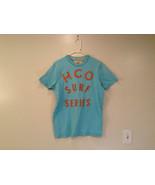 Hollister Light Blue Short Sleeve 100 Percent Cotton T Shirt Size XL - $39.99