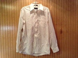 Long Sleeve White Dress Shirt The Arrow Company Button Down Size 34 to 35 - $24.74