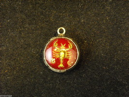 Horoscope Cancer Crab Bracelet Charm image 1