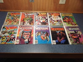Huge Collection X-Men Comic Books VERY FINE 92 issues 1982-1989 most in sequence