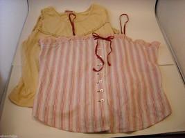 9 pcs Women's Clothing summer Ann Taylor Lauren Khakis Billabong tanks Robbins S image 4