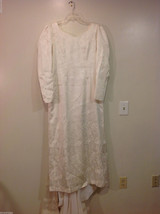 Maggie Flood Long Sleeve Carmen Sweep train Wedding Dress Made in USA CustomSize