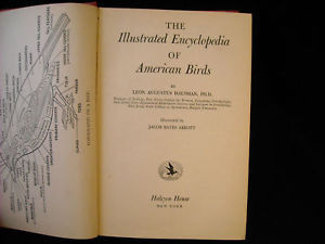 Illustrated Encyclopedia of American Birds 1944 1st ed