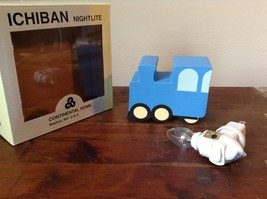 Ichiban Night Light Bright Blue Truck Original Box US Outlet image 1