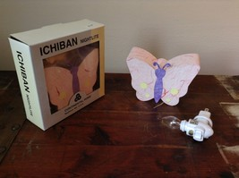 Ichiban Night Light Butterfly with Pink Wings Original Box Colorful US Outlet image 1