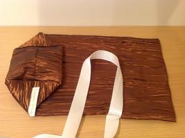Handmade by Caroline Hallak NEW Personal Touch Gift Wine Bag Bronze Brown image 5