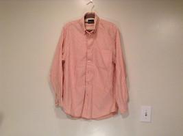 Indigo Palms Denim Company Long Sleeve Pink with Stripe Pattern Size M Shirt