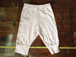 Infant Pink Elastic Waist Pants from Baby Tykes Size 3 to 6 Months