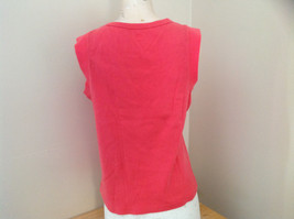 Hanes Pink Sleeveless Shirt Made in Bangladesh Size XL image 5