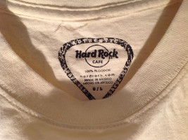 Hard Rock Cafe Logo Graphic Short Sleeve T-Shirt White Green Red Size Large image 4
