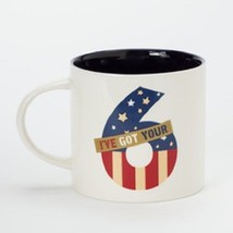 I've got your 6  mug red white and blue patriotic homefront girl