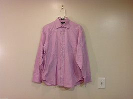 J.Crew Light Violet with Pink Hue Classic 100% Cotton Shirt, Size M (15-15 1/2)