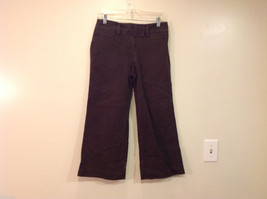 J.Crew Womens Cropped Faded Black Cotton Jeans Pants, Size 6 image 1