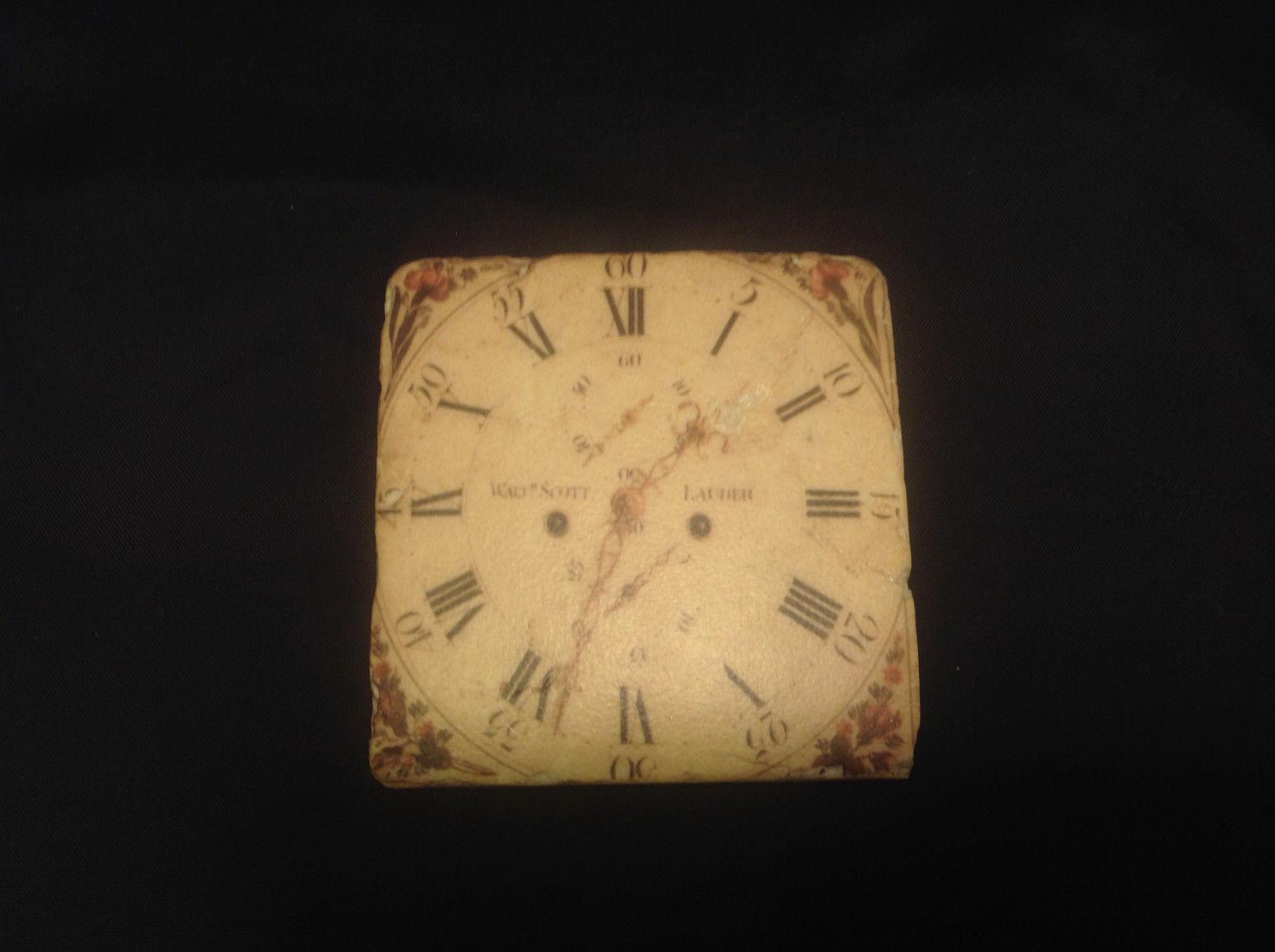 Ja Anderfon Wrst Haven Old World Clock Coaster Set of Four