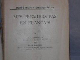 Mes Premier En Francais Ilustrated French Textbook
