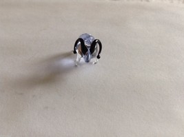 Micro Miniature hand blown glass made USA NIB Blue Ram - $39.99