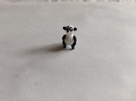 Micro Miniature hand blown glass made USA NIB Panda Bear standing up - $39.99