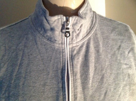 Heather Gray Zip Up Sweat Jacket Style & Co. Made in Cambodia Size Large image 3