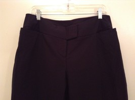 Heather Black Casual Pants High Quality Fabric Size 1X Side and Back Pockets image 3