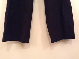 Heather Black Casual Pants High Quality Fabric Size 1X Side and Back Pockets image 4