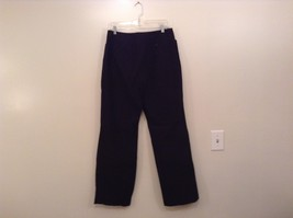 Heather Black Casual Pants High Quality Fabric Size 1X Side and Back Pockets image 2
