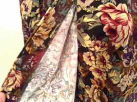 Herman Geist 100 Percent Cotton Size 10 Floral Corduroy Casual Skirt image 4