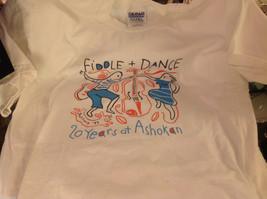 Historical limited production run T shirt commemorating Ashokan camp Farewell image 2
