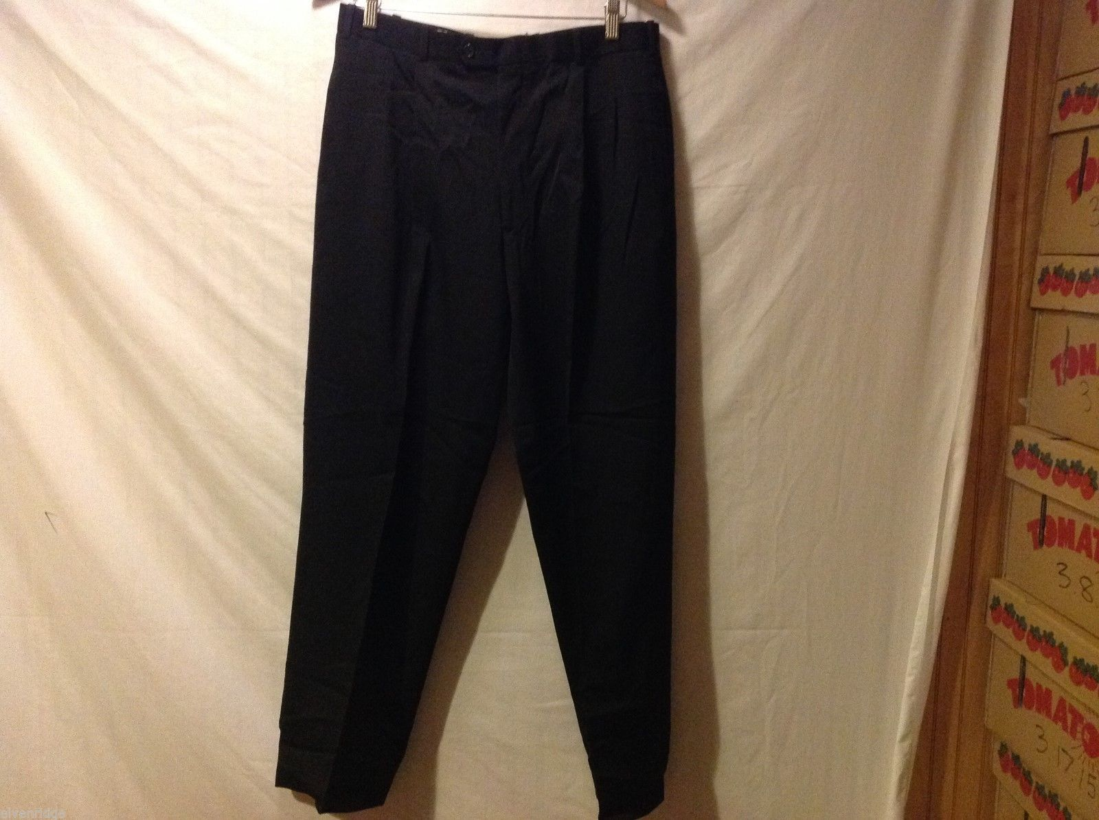 Jeremy Smythe Black Dress Pants, Size 34R