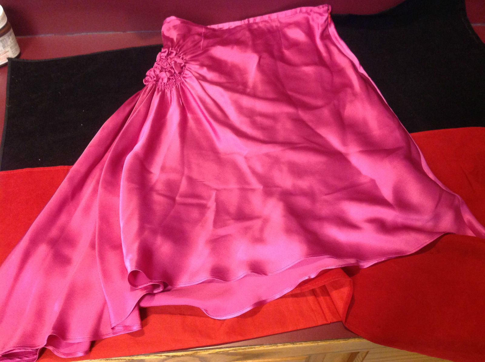 Jerome L'Hullier Ladies Hot Pink Three Quarter Length Skirt Size 40
