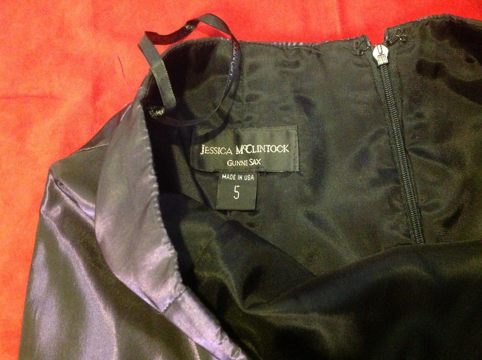 Jessica McClintock onix full skirt size 5